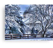 Snowy Fairy Tale Canvas Print