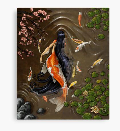 Koi Mermaid Canvas Print