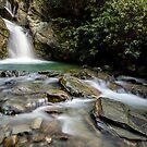 Lake Face Creek Falls - New Zealand by Kimball Chen