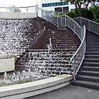 Water Fountain Steps by phil decocco