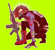 Punk!Winter Soldier by Cara McGee