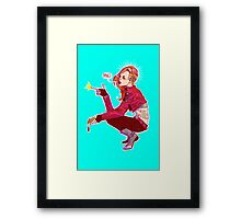Punk!Black Widow Framed Print