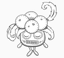 Gloom de los Muertos | Pokemon & Day of The Dead Mashup T-Shirt
