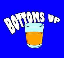 Bottoms Up! by skyhimonkey