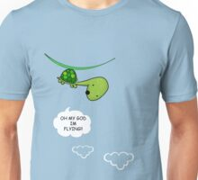 OMG!! IM FLYING!! Unisex T-Shirt