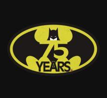 Batman 75 Years Logo T-Shirt