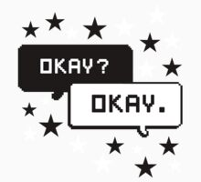 The Fault In Our Stars T-shirt Okay Okay by krochelle