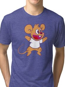 Köpke Chara Collection - Mouse Jump! Tri-blend T-Shirt