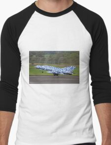 Mikoyan MiG-21MF Fishbed-J 7701 Men's Baseball ¾ T-Shirt