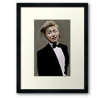 U Kwon Block B Framed Print