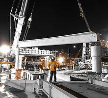 Bridge Construction in Orange by MichaelJP