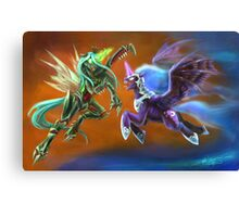 Nightmare vs Chrysalis Canvas Print