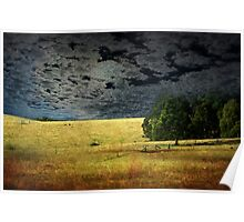 Moonlight Farmland Poster