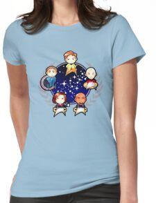 Chibi Trek Womens Fitted T-Shirt