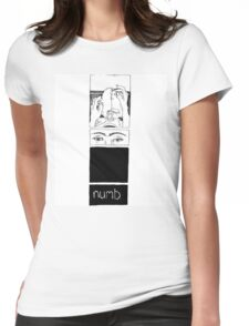 Numb Womens Fitted T-Shirt