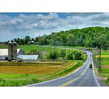 Amish Countryside Photographic Print
