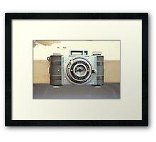Detrola Vintage Camera Framed Print