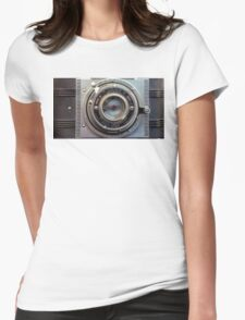 Detrola Vintage Camera Womens Fitted T-Shirt