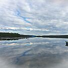 Reflections of clouds by julie08