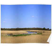 Snape Marshes  Suffolk  UK Poster