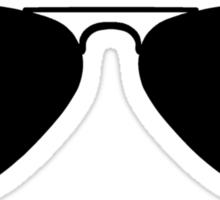 Aviator Sunglasses Sticker