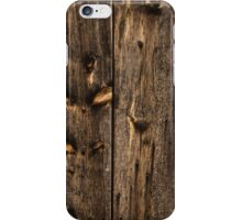 Weathered Wooden Abstracts - 1 iPhone Case/Skin