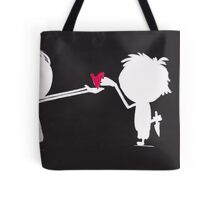 Jenny gives her heart away Tote Bag