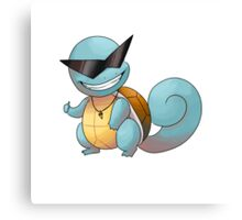Cool guy squirtle Canvas Print