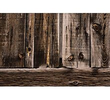 Weathered Wooden Abstracts - 2 Photographic Print
