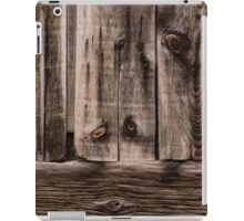 Weathered Wooden Abstracts - 2 iPad Case/Skin