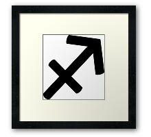 Sagittarius - The Archer - Astrology Sign Framed Print