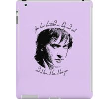 """Darcy """"you have bewitched me"""" iPad Case/Skin"""