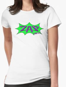 ZAP CIRCUS Bust out Logo Womens Fitted T-Shirt