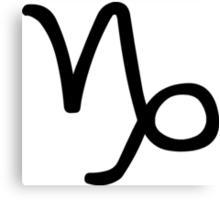 Capricorn - Sea-goat - Astrology Sign Canvas Print