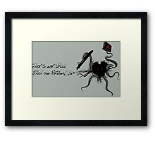 Immortal Lovecraft Framed Print