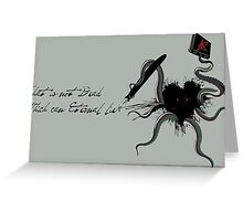 Immortal Lovecraft Greeting Card
