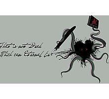 Immortal Lovecraft Photographic Print