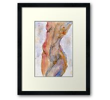 Abstract Nude Framed Print