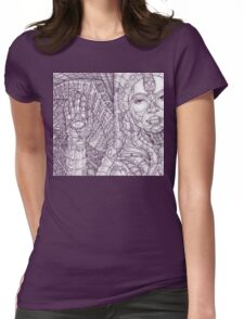 HyperViolet Womens Fitted T-Shirt