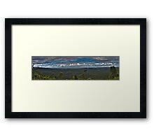 Rainforest Panorama - NSW - Australia Framed Print