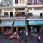 Streets of Phnom Penh  by Madeline Snow