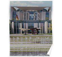 Bundeskanzleramt, Berlin 2006 Poster