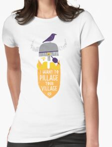 Pillage Womens Fitted T-Shirt