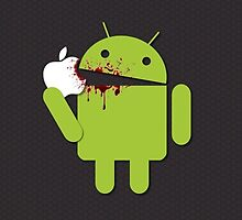 Android vs Apple by Beefcaker