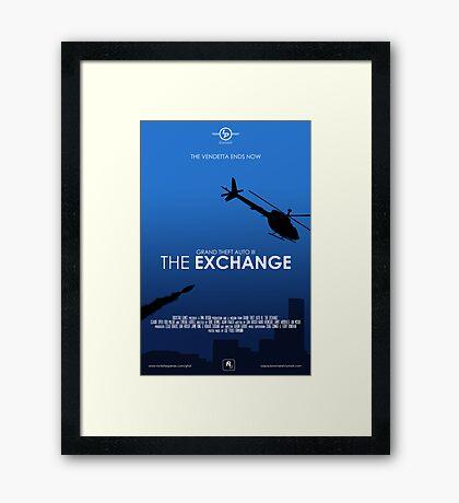 GTA III - The Exchange Framed Print