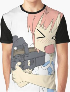 Nichijou CSGO Graphic T-Shirt