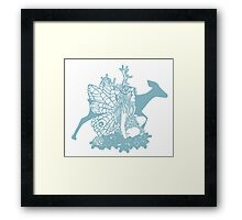 Fawn Fairy Framed Print