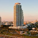 Sunset Towers in Miami by dbvirago