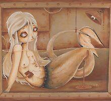 Feejee Mermaid by WhiteStagArt