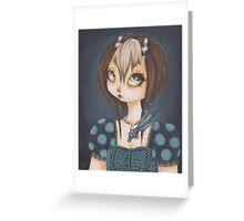 Dragonkin: Alessa Greeting Card